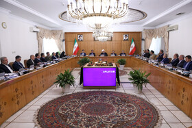 Session of Iran's cabinet ministers, Tehran, Iran, October 9, 2019.
