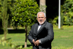Iranian Foreign Minister Mohammad Javad Zarif is seen on the sidelines of the session of Iran's cabinet ministers, Tehran, Iran, October 9, 2019.