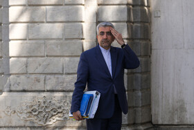 Energy Minister Reza Ardakanian is seen on the sidelines of the session of Iran's cabinet ministers, Tehran, Iran, October 9, 2019.
