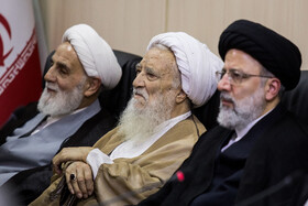 Iran's Judiciary Chief Ebrahim Raeisi (R) is present in the session of Expediency Discernment Council, Tehran, Iran, October 9, 2019.