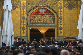 Atmosphere of Imam Ali Shrine ahead of Arbaeen