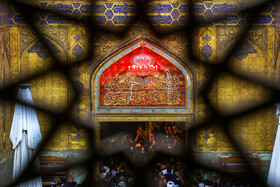 The Holy Shrine of Imam Ali (PBUH), the first Shia Imam, is seen ahead of Arbaeen Day, Najaf, Iraq, October 12, 2019.
