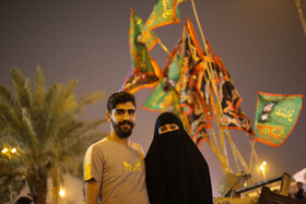 Pilgrims from around the world are seen in Najaf City ahead of Arbaeen Day, Najaf, Iraq, October 13, 2019.