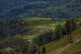 The breathtaking Nam Nameh Posht region is seen in the photo, Gilan, Iran, October 13, 2019.