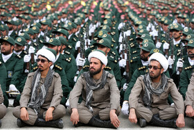 On the sidelines of the graduation ceremony for the student officers and guards trainees at Imam Hussain (PBUH) held in the presence of Iran's Supreme Leader Ayatollah Ali Khamenei, Tehran, Iran, October 13, 2019.