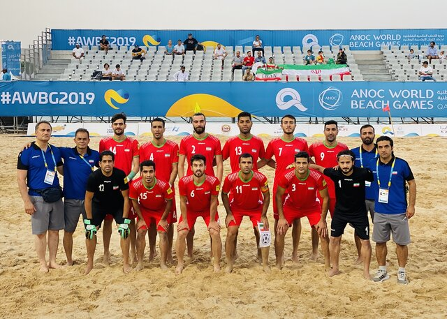 Iran claims title at Intercontinental Beach Soccer Cup champions for 3rd time