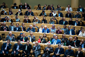 The opening ceremony of the 66th Session of the WHO Regional Committee for the Eastern Mediterranean, Tehran, Iran, October 15, 2019. Health Ministers and high-level representatives from the 22 countries and territories of the WHO Eastern Mediterranean Region have taken part in the 66th edition of the Session, which will continue until 17 October in Tehran.