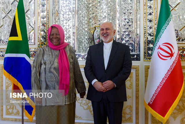 Iran's Zarif meets with South African counterpart