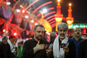 Pilgrims in Karbala on eve of Arbaeen