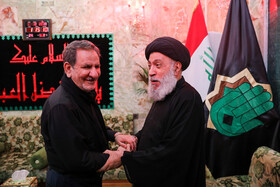 Iran's First Vice-President Es'haq Jahangiri (L) is seen during his visit from Iraq, October 19, 2019. Iran's First Vice-President Es'haq Jahangiri travelled to Iraq on Saturday in order to attend the mourning ceremony of Arbaeen in Iraqi city of Karbala as well as meeting with Iraqi officials responsible for holding Arbaeen rituals.