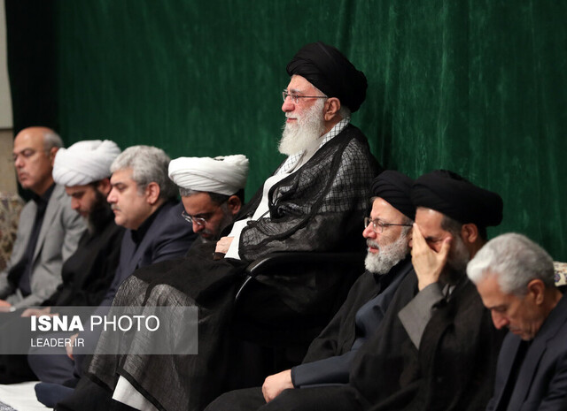 Mourning ceremony of Arbaeen held in presence of Iran's Leader