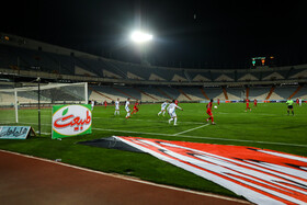 The football match between Persepolis FC and Paykan FC, Tehran, Iran, October 20, 2019.
