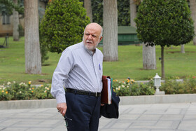 Iran's Oil Minister Bijan Zanganeh is seen on the sidelines of the session of Iran's cabinet ministers, Tehran, Iran, October 23, 2019.
