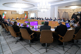 The session of Iran's cabinet ministers is held under the chair of Iranian President Hassan Rouhani, Tehran, Iran, October 23, 2019.