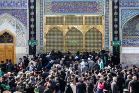 Iranians mourn for the demise of the Islam Prophet Muhammad (PBUH) and the martyrdom of the second Shia Imam, Imam Hassan (PBUH) at the Holy Shrine of Imam Reza (PBUH), Mashhad, Iran, October 27, 2019.