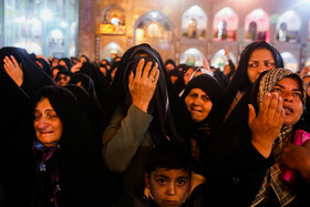 Iranians mourn for the martyrdom anniversary of Imam Reza (PBUH), the eighth Shia Imam, at His holy shrine in Mashhad, Iran, October 30, 2019.