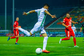 The football match between Zob Ahan Isfahan FC and Shahin Shahrdari Bushehr FC, Isfahan, Iran, October 1, 2019.