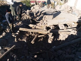 Damages of 5.9-magnitude earthquke in East Azerbaijan Province, Iran, November 8, 2019. According to the reports, five people were killed and 530 others were injured during the earthquake.