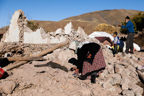Tark City of East Azerbaijan Province is seen one day after the earthquake, Iran, November 9, 2019.