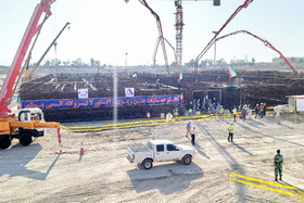 Concrete placement at 2nd unit of Bushehr nuclear plant begins