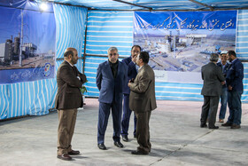 On the sidelines of Iranian President's visit to Kerman, Iran, November 12, 2019.