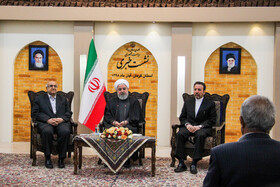 2nd day of Iranian President's visit to Kerman, Iran