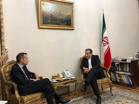 Iran's Araqchi, Director General of Belgian Foreign Ministry hold talks