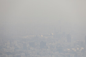 High air pollution levels in Iran's capital