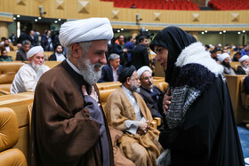 On the sidelines of the opening ceremony of the 33rd International Islamic Unity Conference, Tehran, Iran, November 14, 2019.