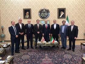 Iran-Georgia parliamentary friendship group visits Tehran