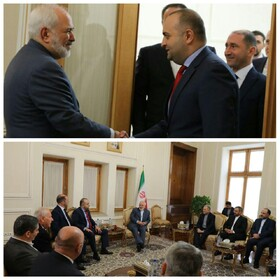Iran-Georgia parliamentary friendship group holds talks with Zarif