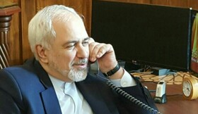 Iran, Japan FMs hold phone conversation