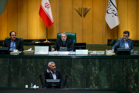 The public session of Iran's Parliament is held in Tehran, Iran, November 25, 2019.