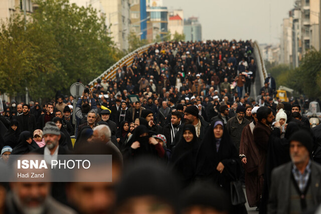 Tehran hosts rally against recent violent acts