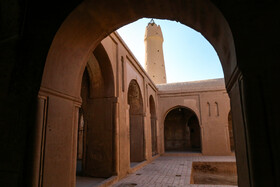 Jameh Mosque of Fahraj is seen in the photo, Yazd, Iran, November 26, 2019.