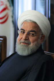 Iranian President Hassan Rouhani is present in the session of the Supreme Council of Economic Cooperation, Tehran, Iran, November 30, 2019.