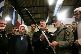 On the sidelines of the unveiling ceremony of Iranian Navy's new military achievements, Tehran, Iran, November 30, 2019.