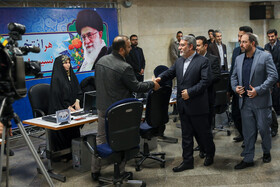 Iranian Interior Minister Abdolreza Rahmani Fazli is seen on the sidelines of the first day of registering Iran's Parliamentary candidates, Tehran, Iran, December 1, 2019.