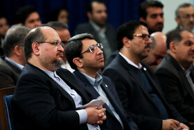Iran's Labour Minister Mohammad Shariatmadari is present in a ceremony held to mark the International Day of Persons with Disabilities, Tehran, Iran, December 3, 2019.