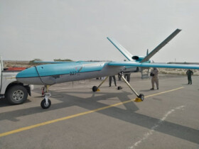 "Homegrown combat drone ""Simorgh"" joins Iran's Navy"