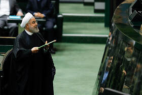 Iran's Rouhani presents budget bill to Parliament