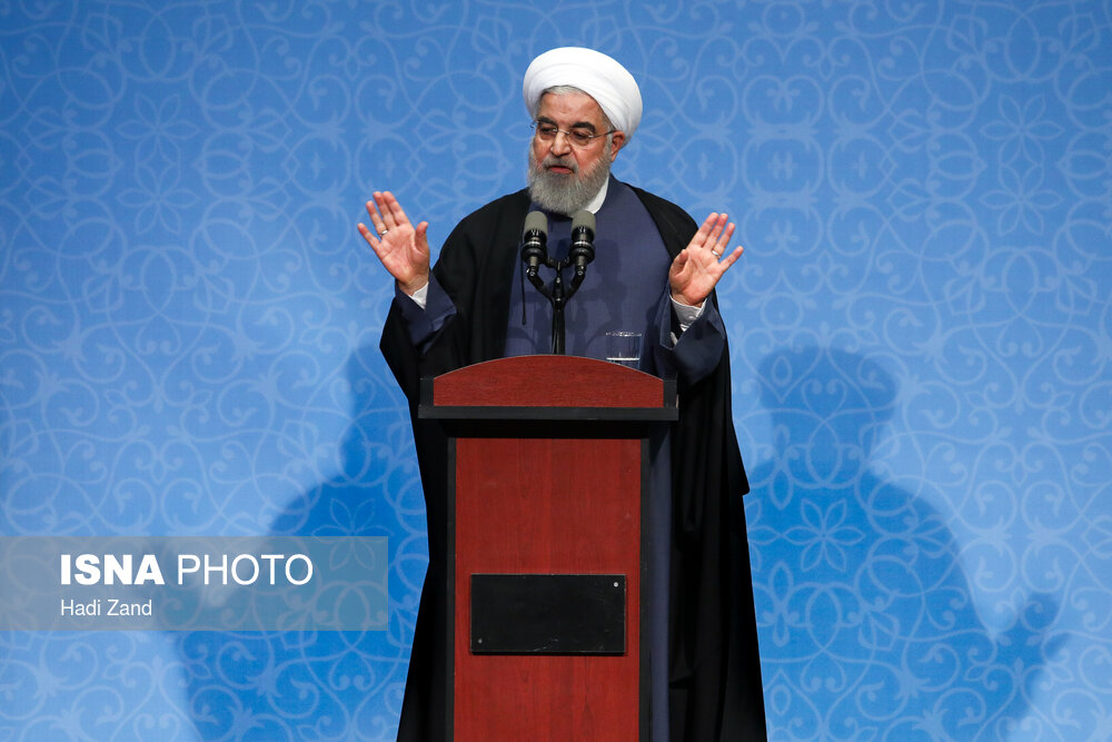 Student's Day celebrated in presence of Iranian President