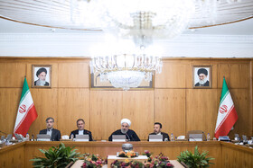 The session of Iran's cabinet ministers, Tehran, Iran, December 11, 2019.