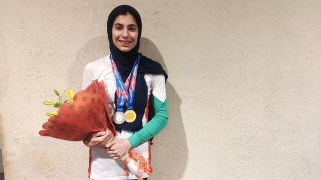 Iranian teenage claims IFSC Climbing Asian Youth Championship