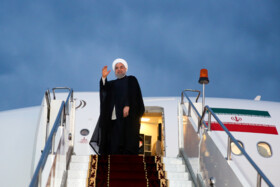 President Rouhani leaves for Malaysia