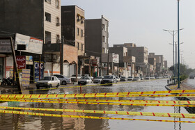 Ahvaz is inundated by heavy rains, Iran, December 17, 2019.