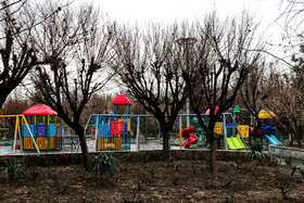 The playground of Laleh park in Tehran, Iran, December 18, 2019.