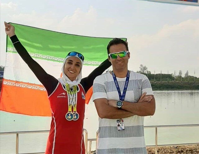 Iran claims 3 gold medals at Asian Rowing Cup