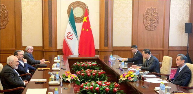 1st round of talks between Iranian, Chinese FMs