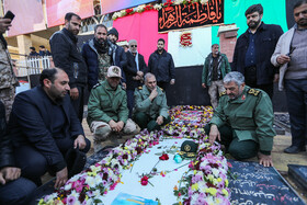 Iran's top military officials attend the burial ceremony of Lieutenant General Qassem Soleimani, Kerman, Iran, January 7, 2020.